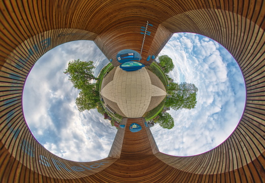 Little Planet Panorama EinFlussReich 2