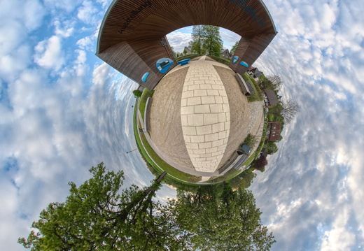 Little Planet Panorama EinFlussReich