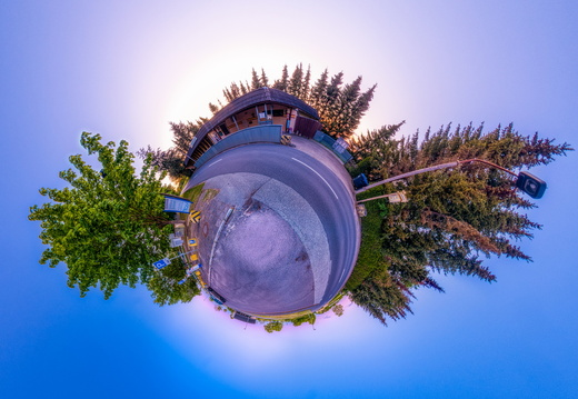 Checkpoint Harry Little Planet Panorama 3